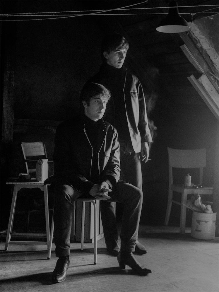 9. JOHN+GEORGE-ATTIC 1962 LOW