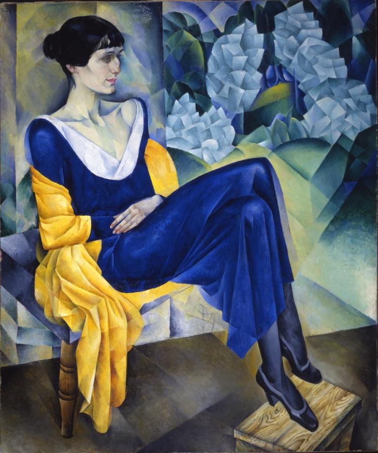5. Altman. Ritratto della poetessa Anna Akhmatova.