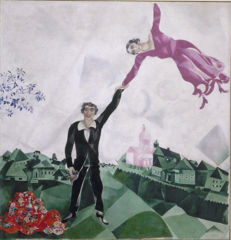 7. Chagall. Promenade.