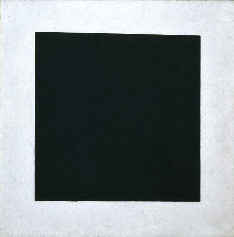 9. Malevich. Quadrato Nero.