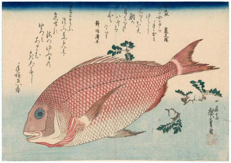 11. Hokusai Hiroshige