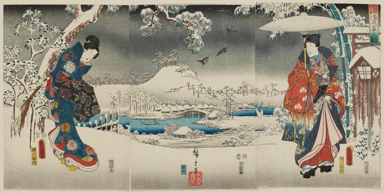 12. Hokusai Hiroshige