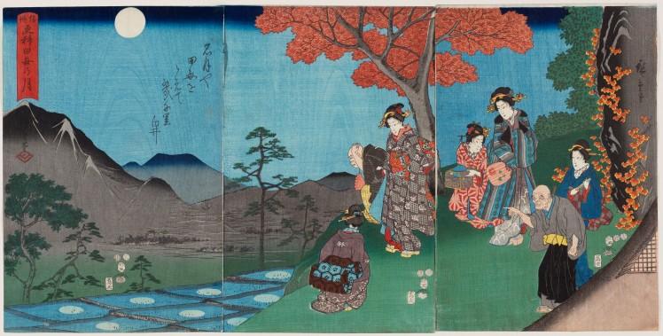 13. Hokusai Hiroshige