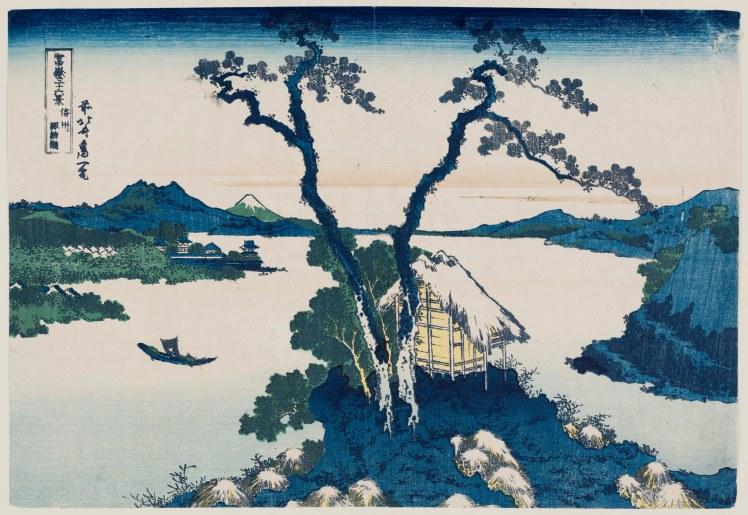 16. Hokusai Hiroshige